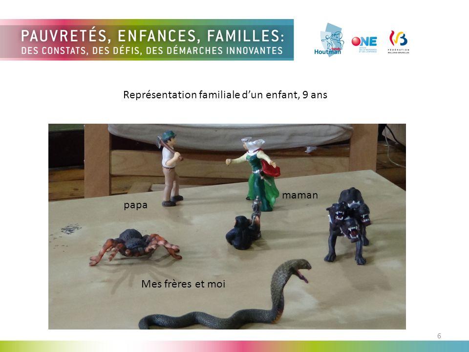 Représentation familiale d'un enfant, 9 ans
