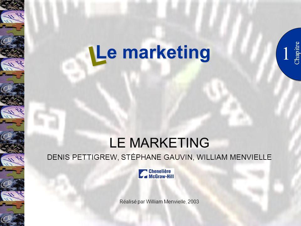 L Le marketing 1 LE MARKETING