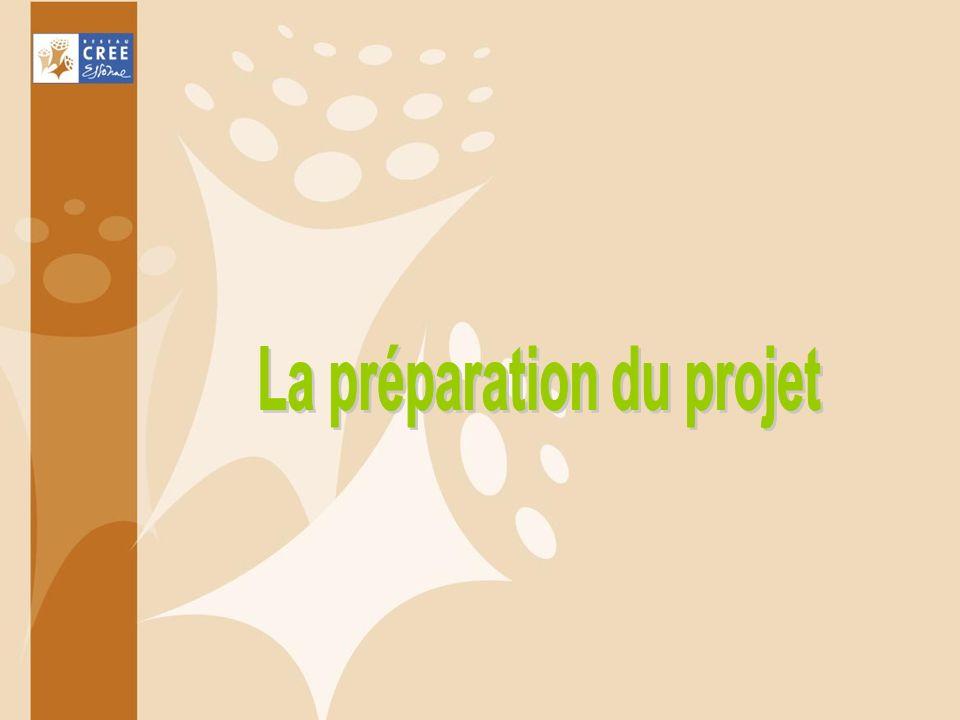 La préparation du projet
