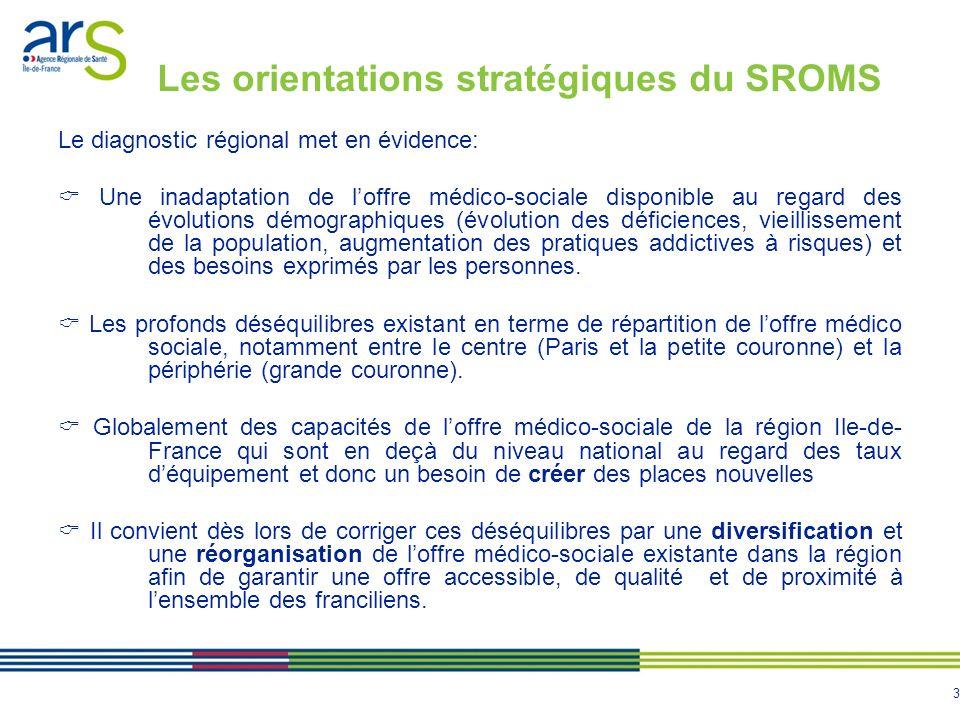 Les orientations stratégiques du SROMS