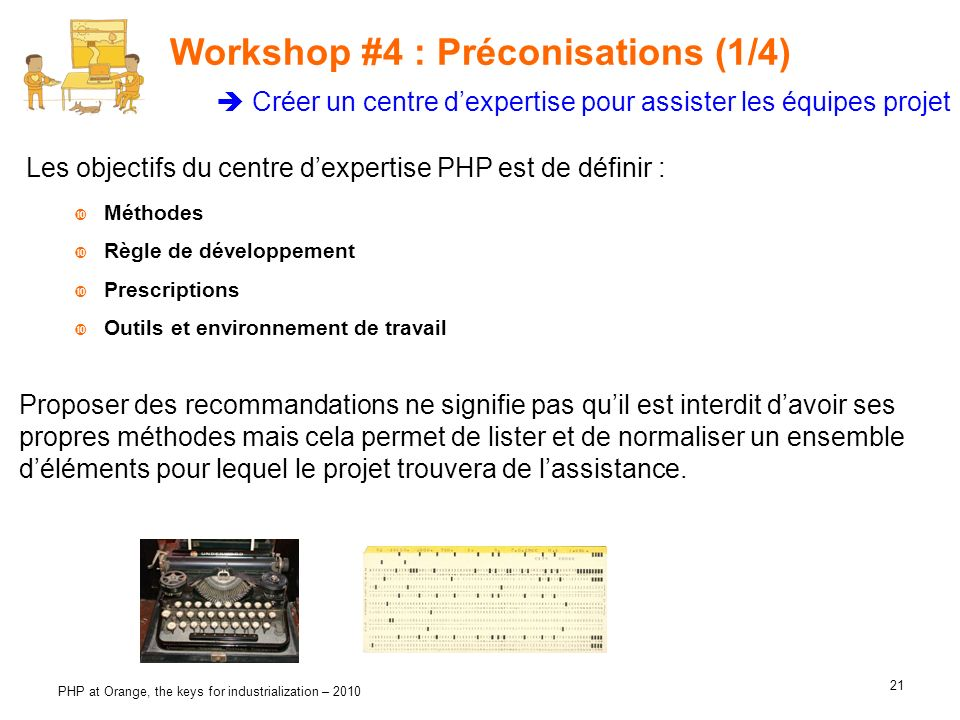 Workshop #4 : Préconisations (1/4)