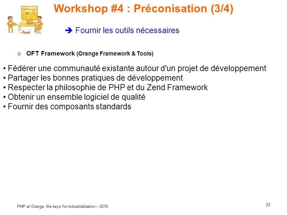 Workshop #4 : Préconisation (3/4)