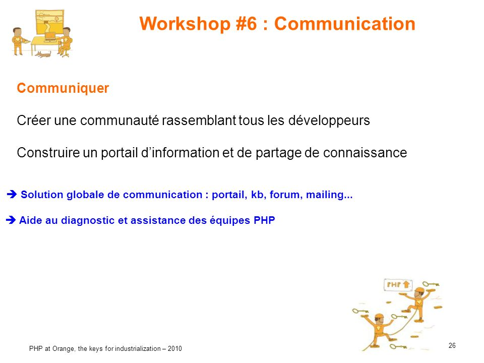 Workshop #6 : Communication