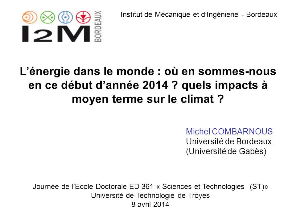 Institut de Mécanique et d'Ingénierie - Bordeaux
