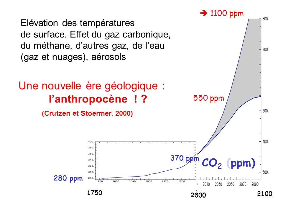 Une nouvelle ère géologique : l'anthropocène !