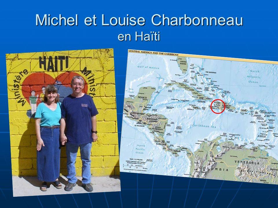 Michel et Louise Charbonneau en Haïti