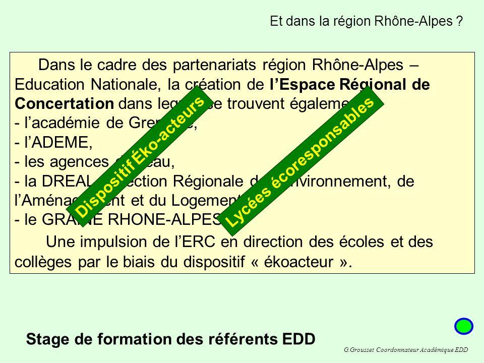 Et dans la région Rhône-Alpes