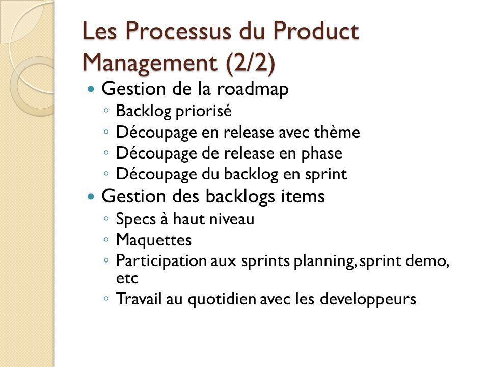 Les Processus du Product Management (2/2)