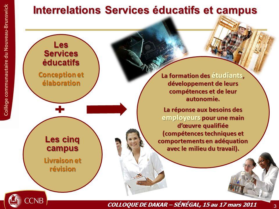 Interrelations Services éducatifs et campus