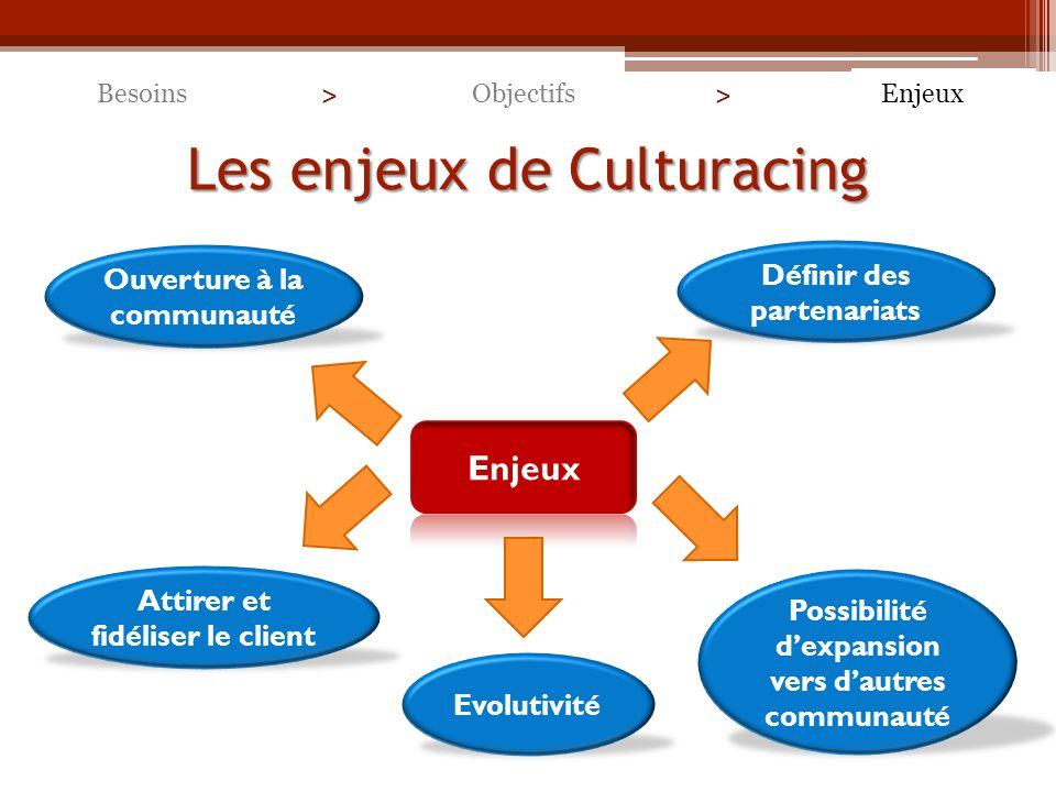Les enjeux de Culturacing