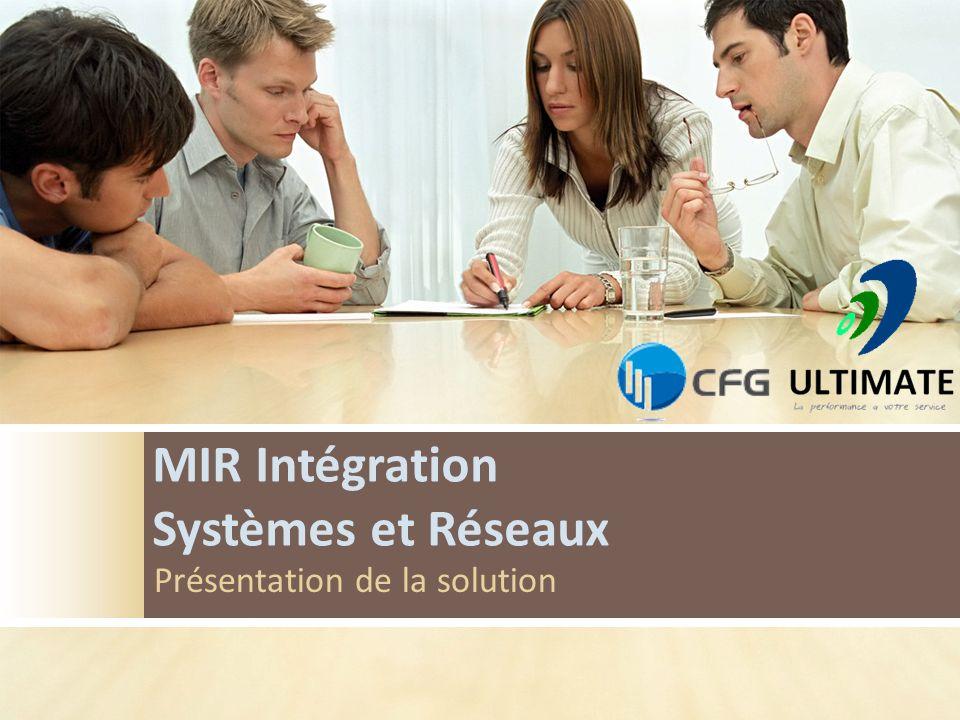 MIR Intégration Systèmes et Réseaux