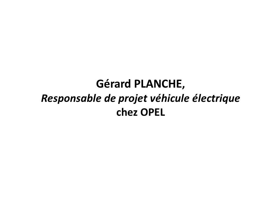 Responsable de projet véhicule électrique chez OPEL
