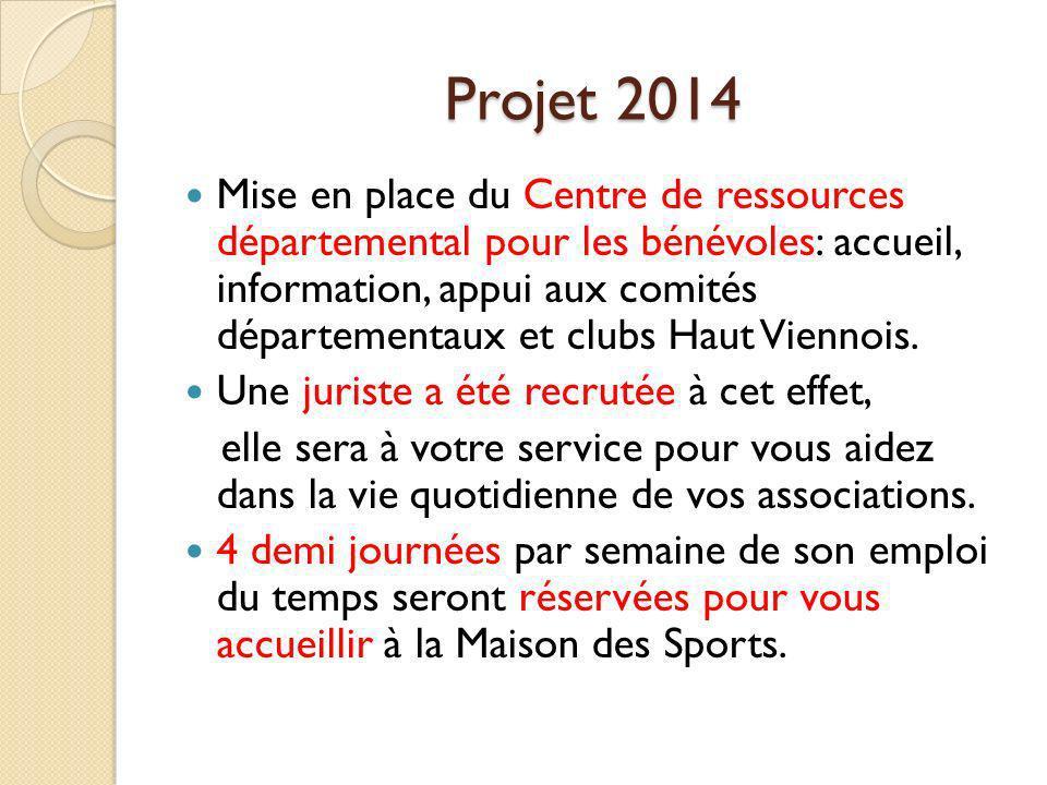 Projet 2014