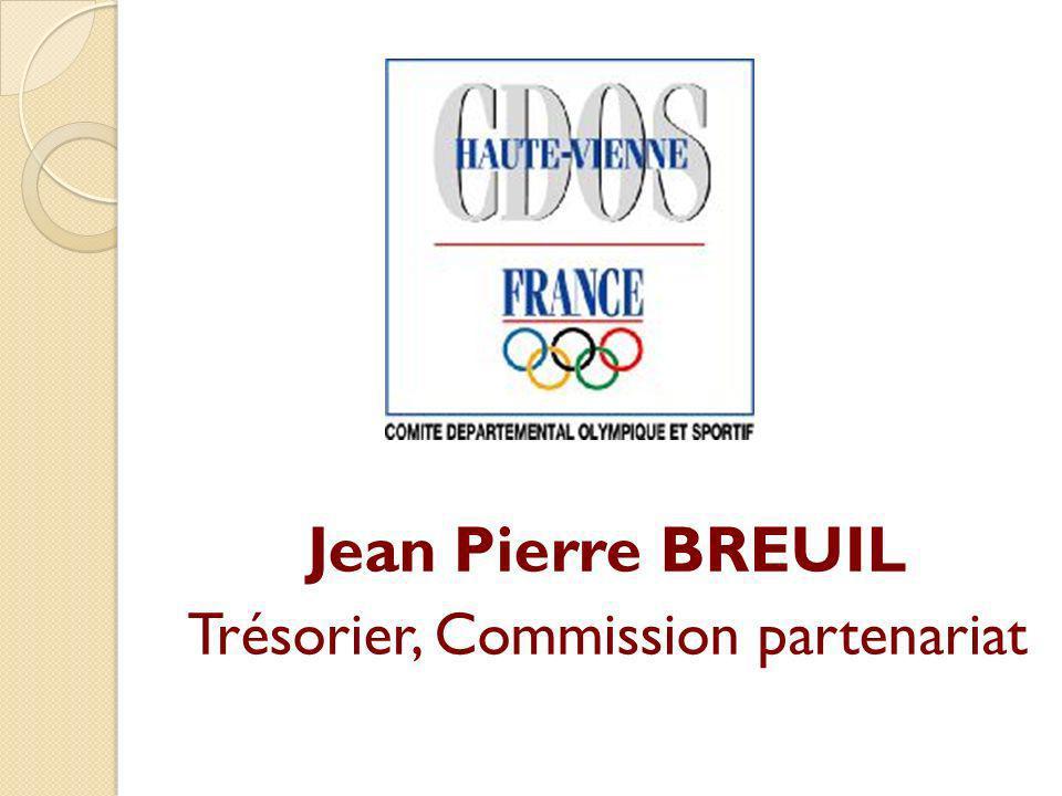 Trésorier, Commission partenariat