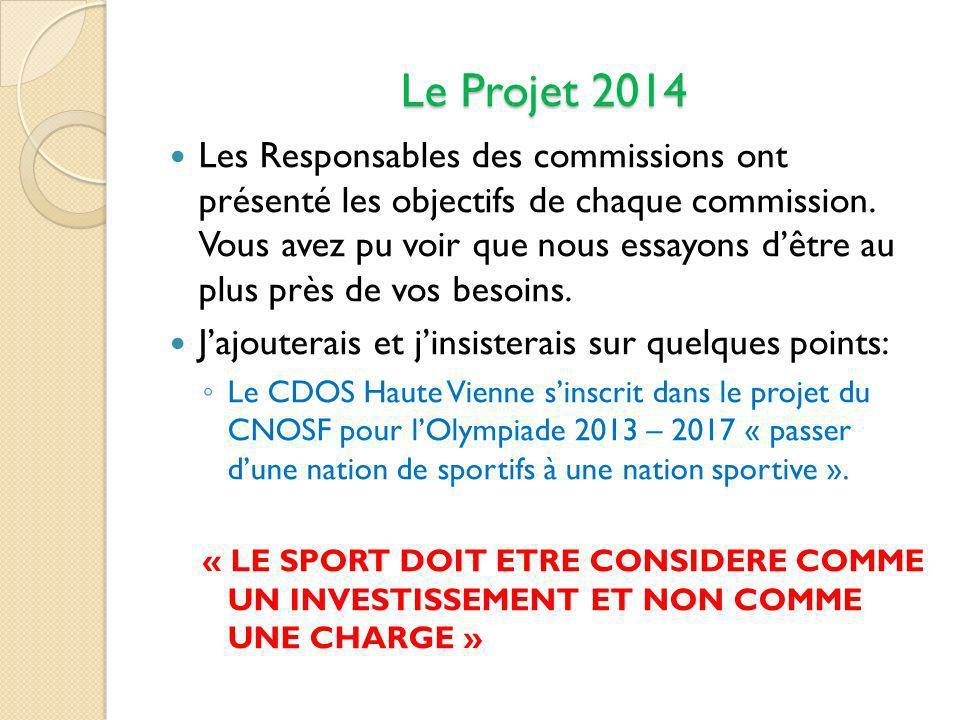 Le Projet 2014