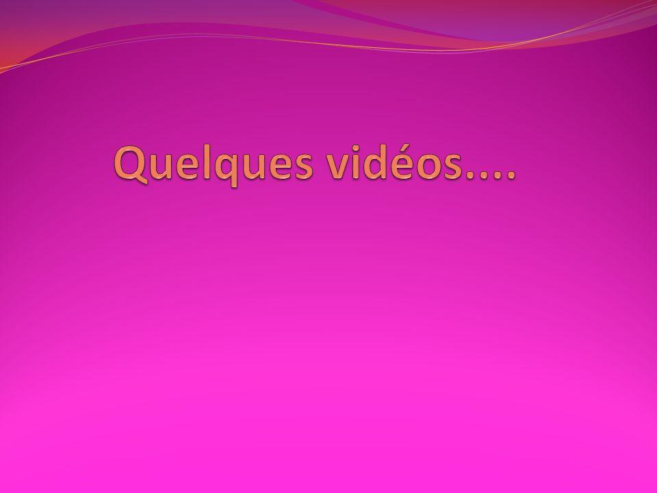 Quelques vidéos.... Amorce