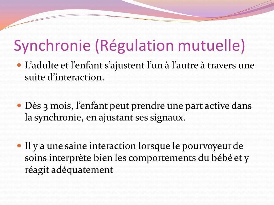 Synchronie (Régulation mutuelle)