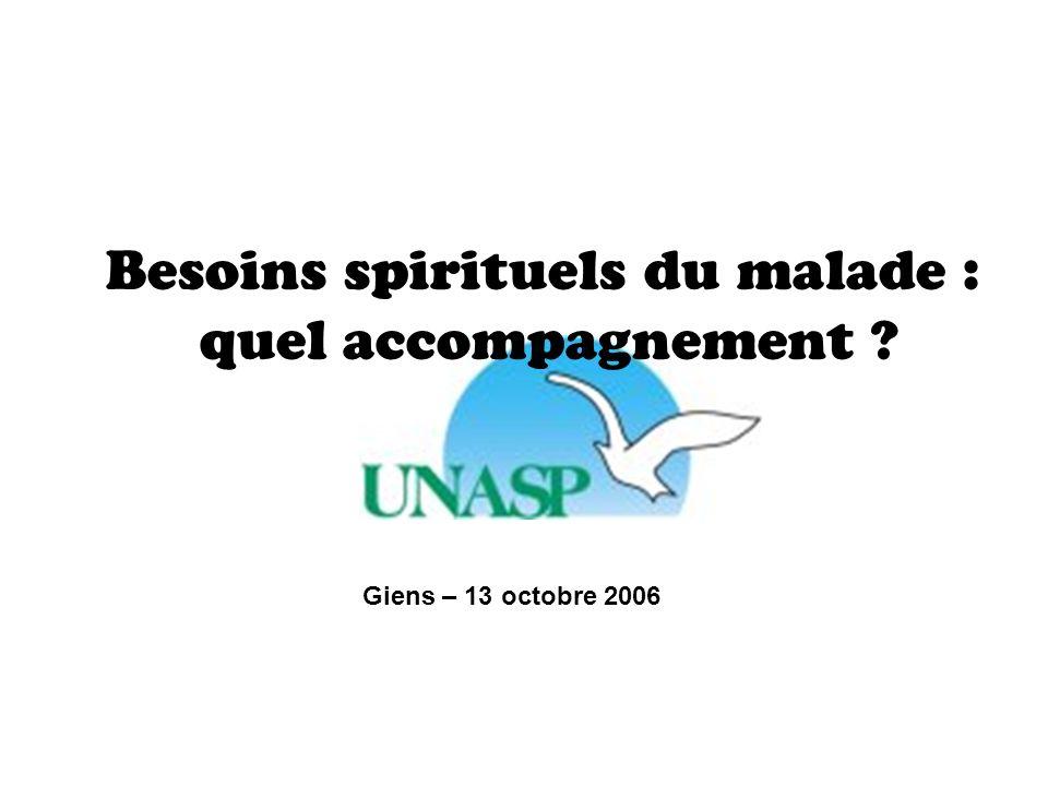 Besoins spirituels du malade : quel accompagnement