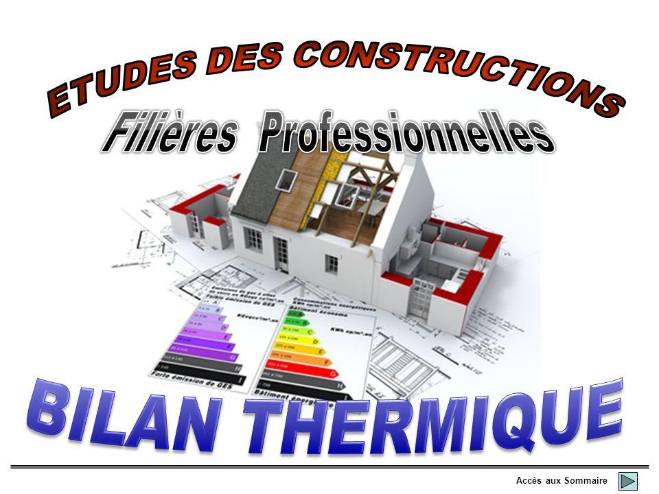 ETUDES DES CONSTRUCTIONS
