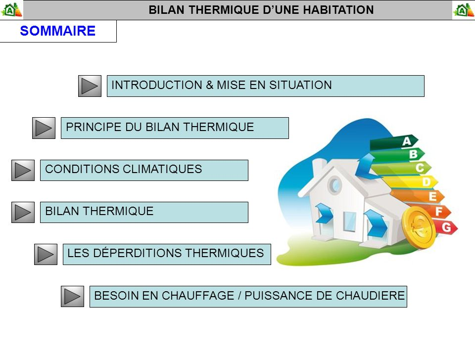 bilan thermique maison good maison dpe nergie bilan thermique rt grenelle de with bilan. Black Bedroom Furniture Sets. Home Design Ideas