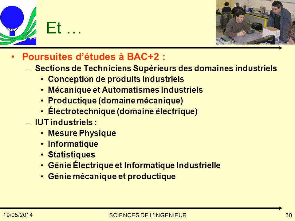 SCIENCES DE L INGENIEUR