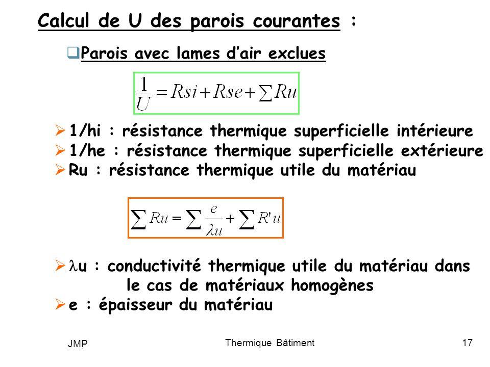 thermique b timent bilan thermique d hiver ppt video. Black Bedroom Furniture Sets. Home Design Ideas