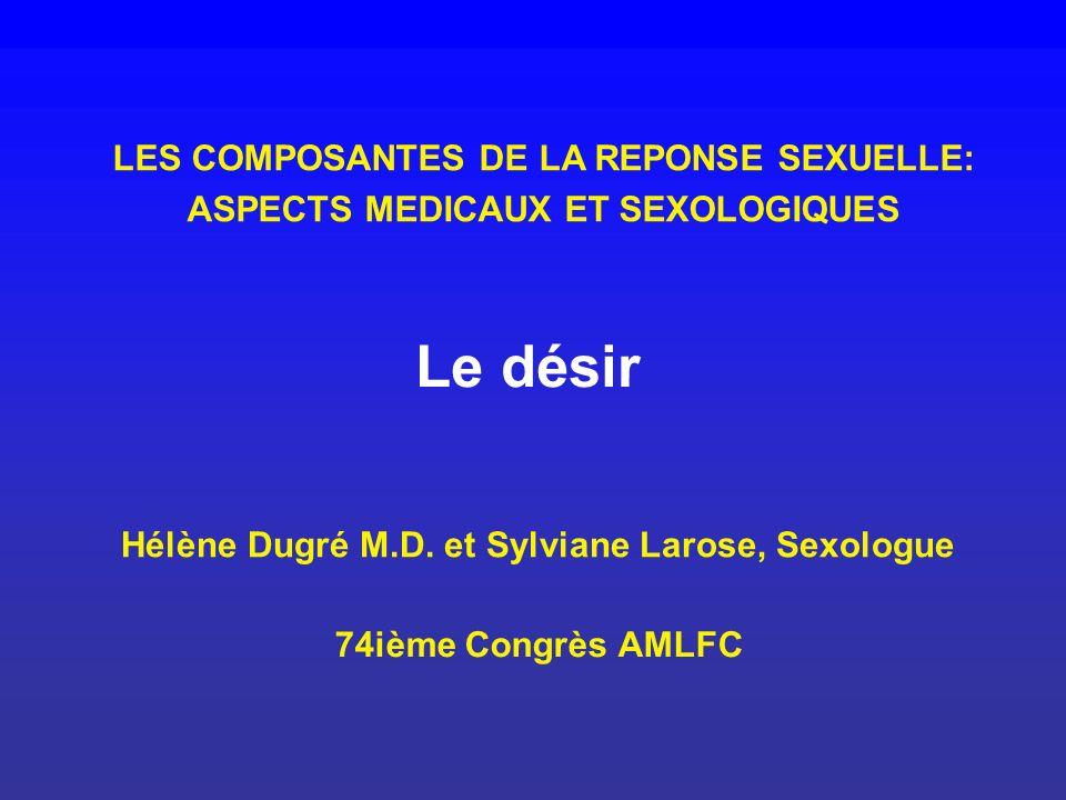 Hélène Dugré M.D. et Sylviane Larose, Sexologue