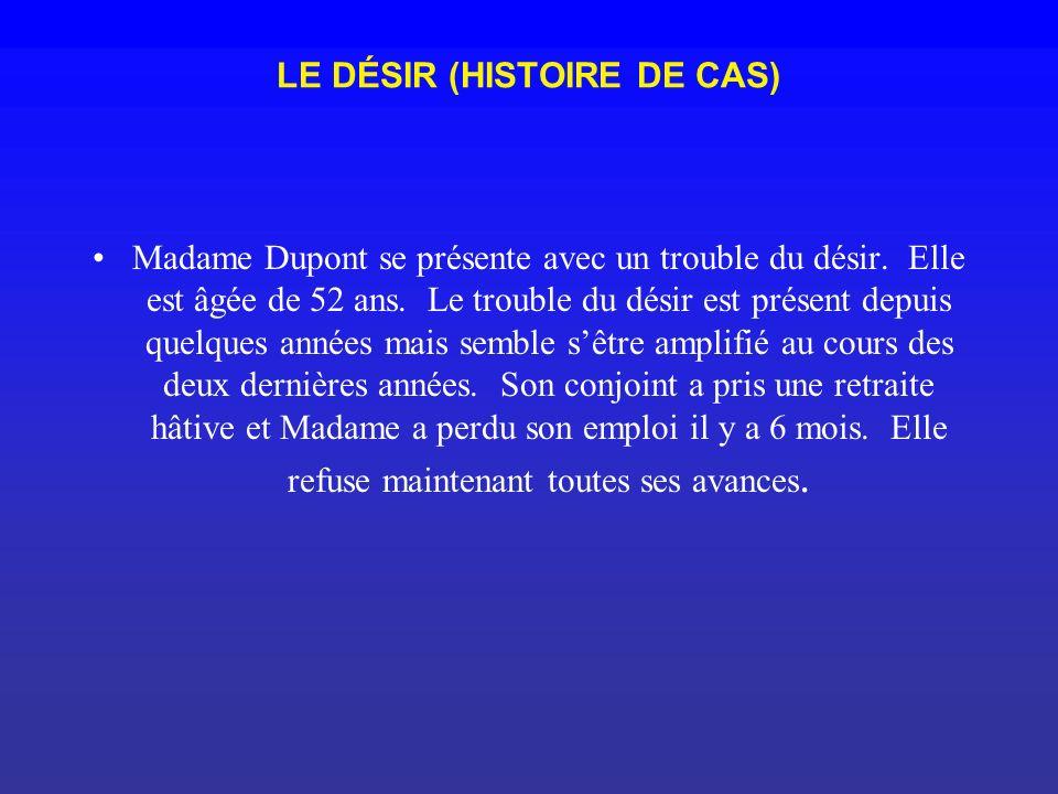 LE DÉSIR (HISTOIRE DE CAS)