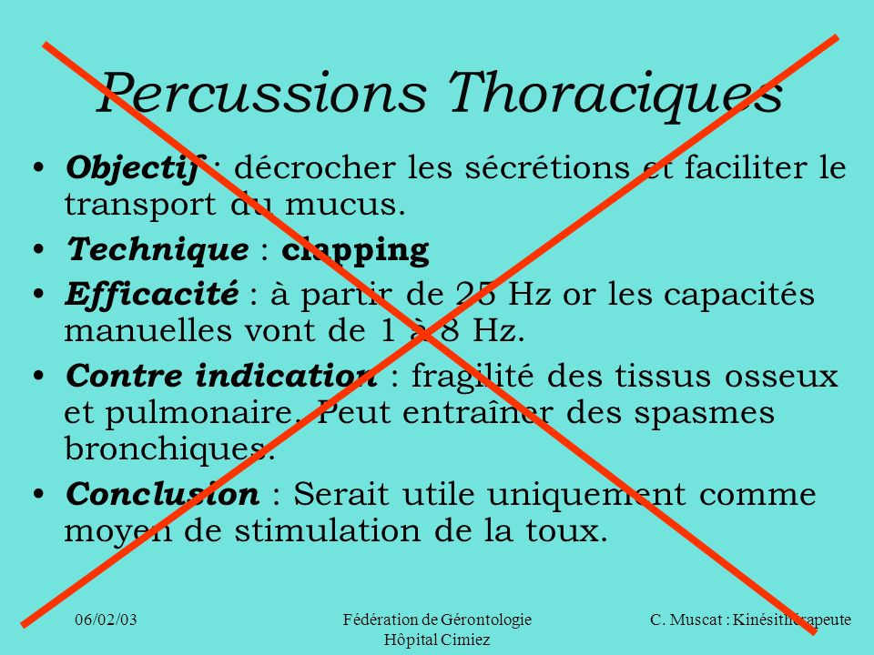 Percussions Thoraciques