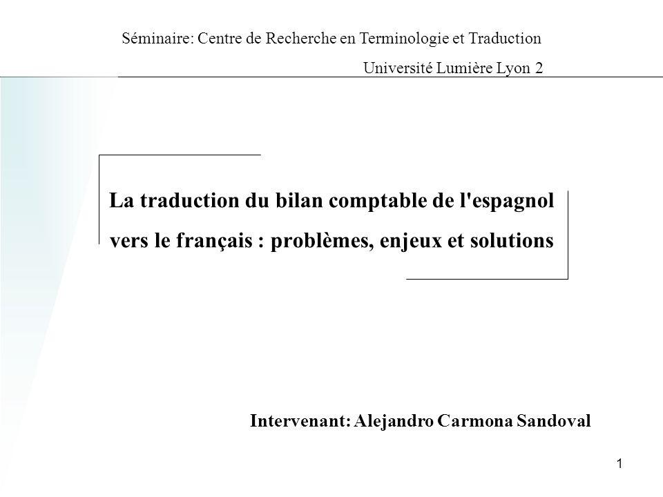 Intervenant: Alejandro Carmona Sandoval