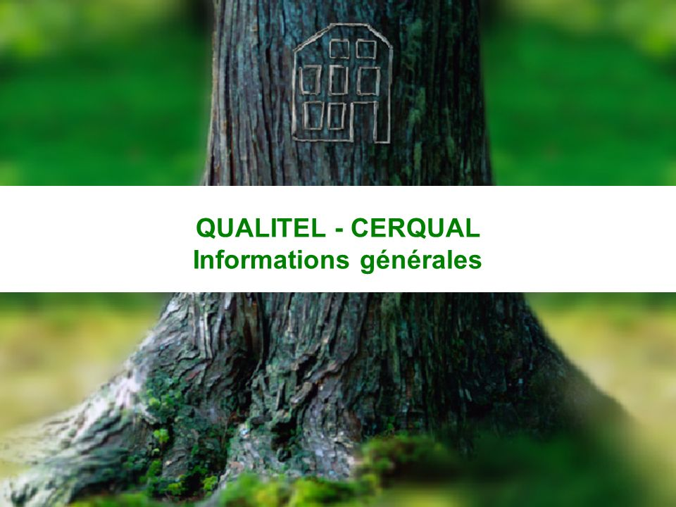QUALITEL - CERQUAL Informations générales