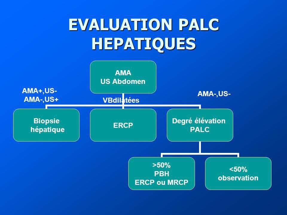 EVALUATION PALC HEPATIQUES