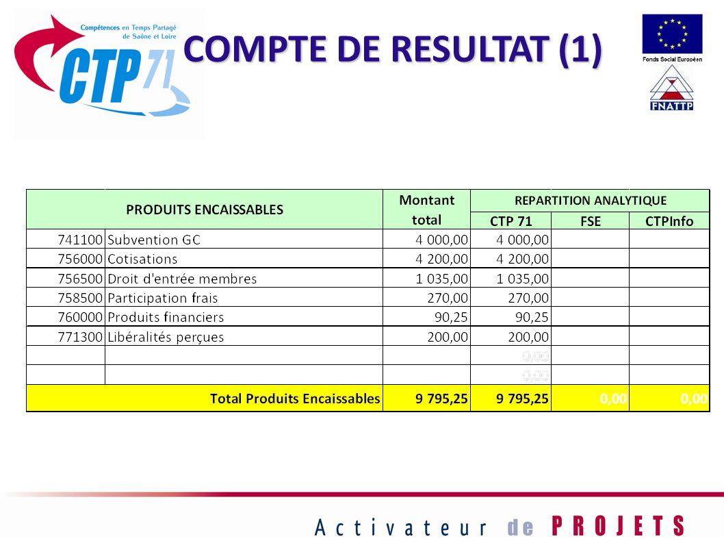 COMPTE DE RESULTAT (1) 53
