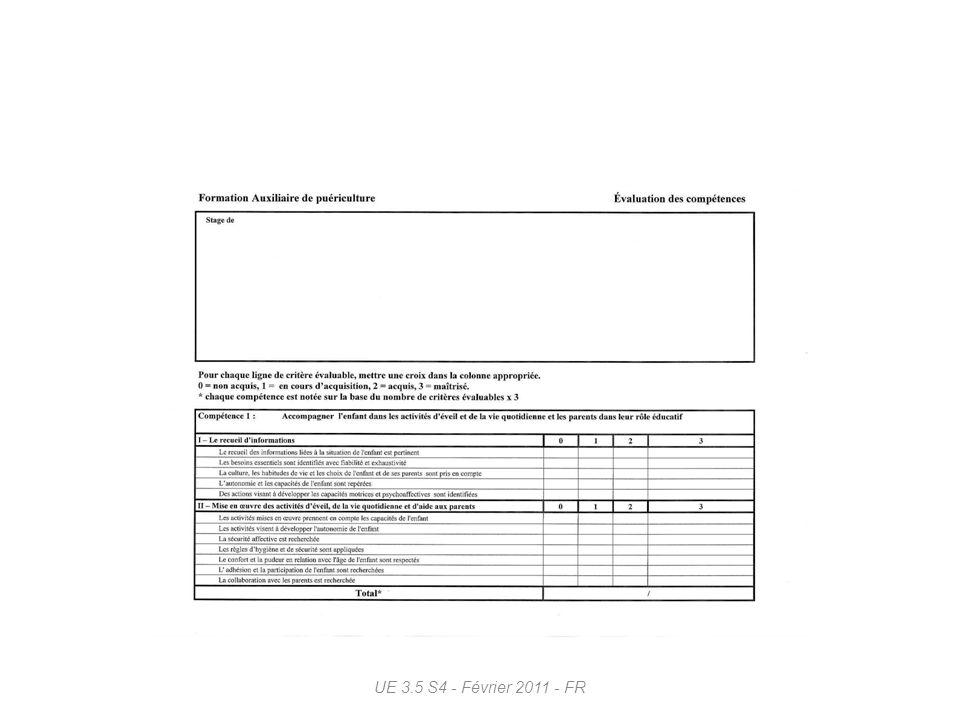 UE 3.5 S4 - Février 2011 - FR