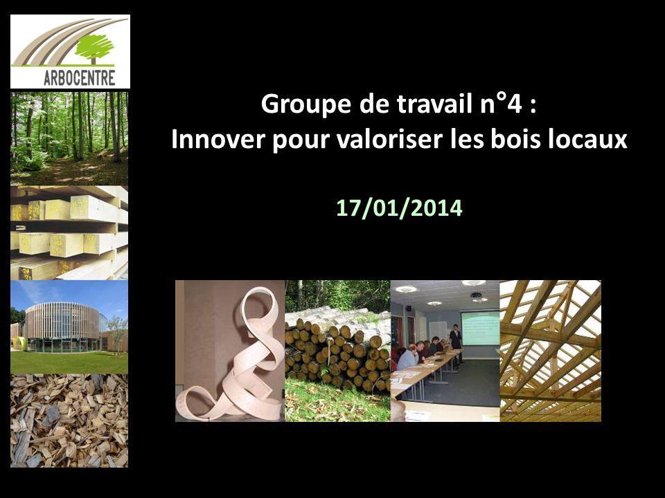 Innover pour valoriser les bois locaux