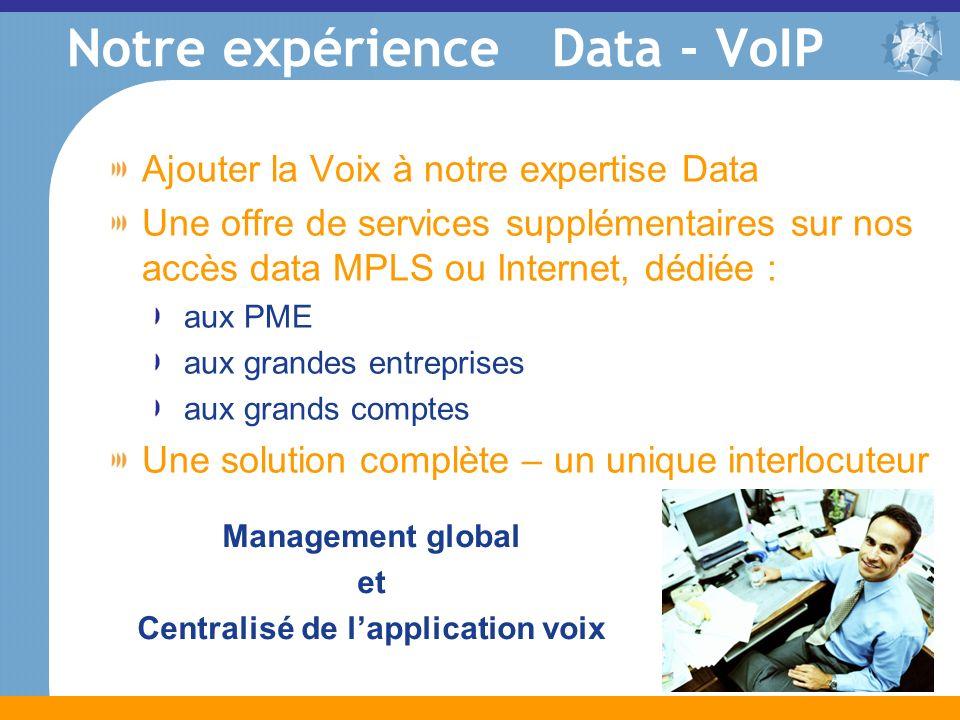 Notre expérience Data - VoIP