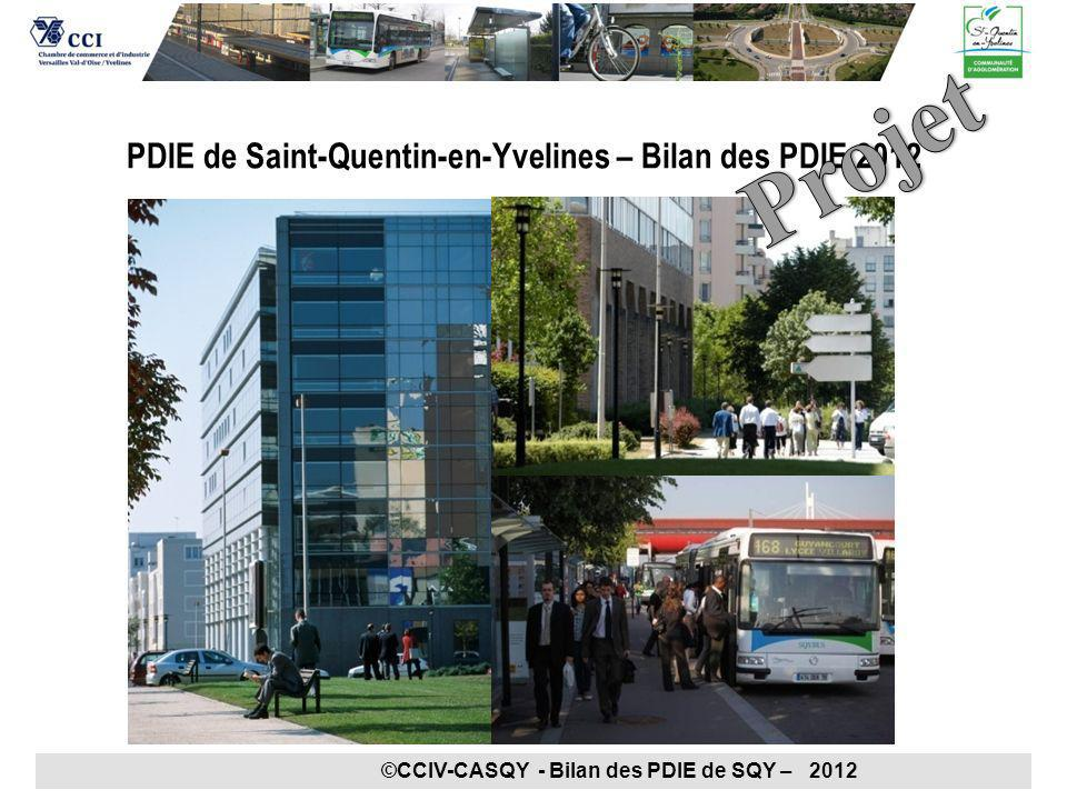 PDIE de Saint-Quentin-en-Yvelines – Bilan des PDIE 2012