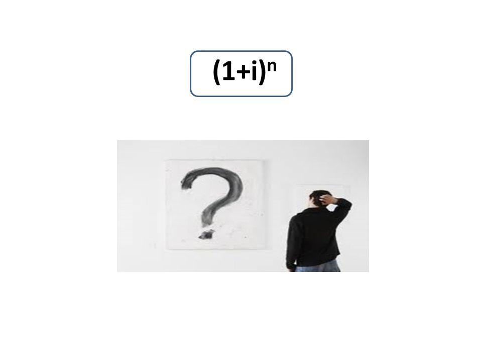 (1+i)n