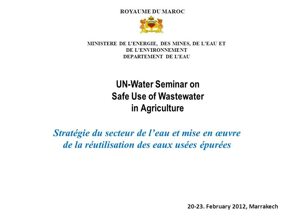 Stratégie du secteur de l'eau et mise en œuvre