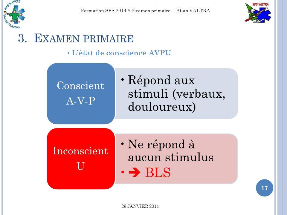 Examen primaire // Bilan Valtra