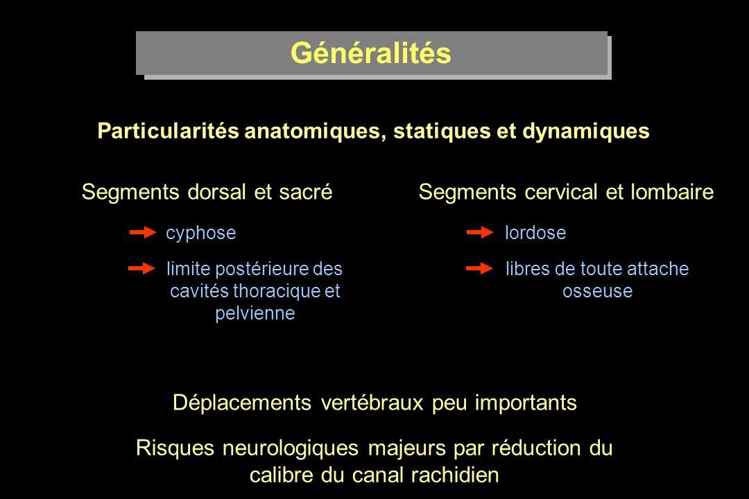 Particularités anatomiques, statiques et dynamiques