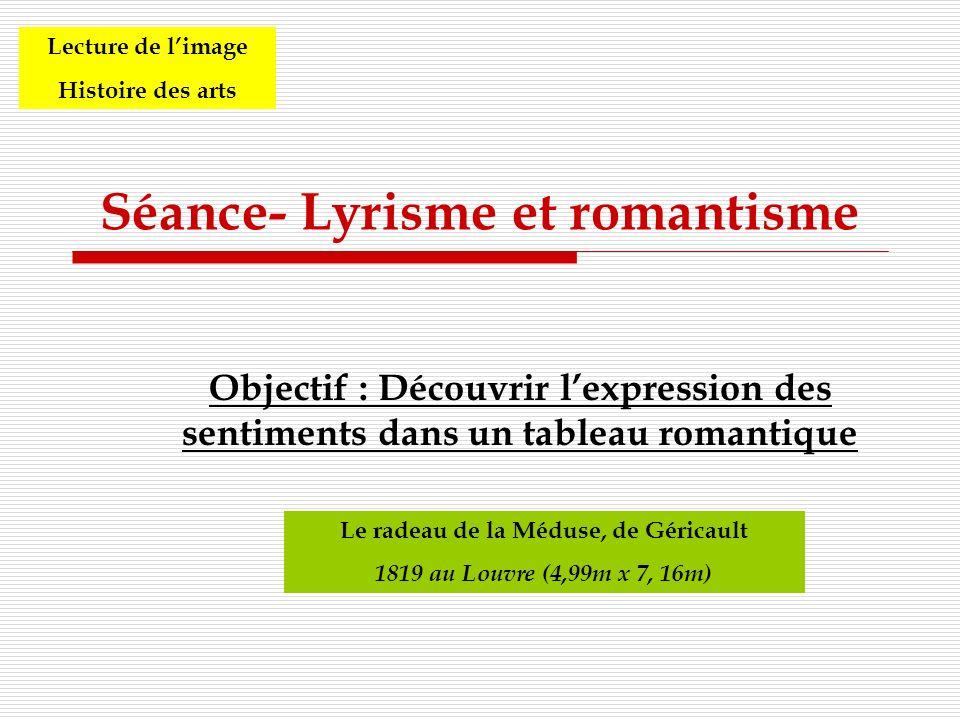 Séance- Lyrisme et romantisme