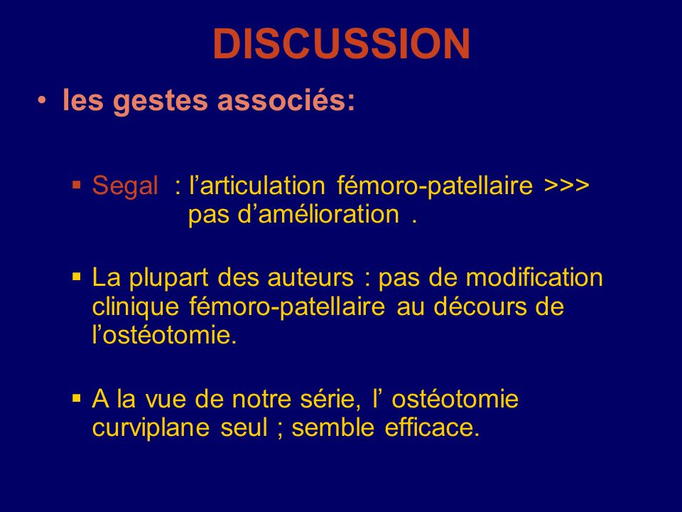 DISCUSSION les gestes associés: