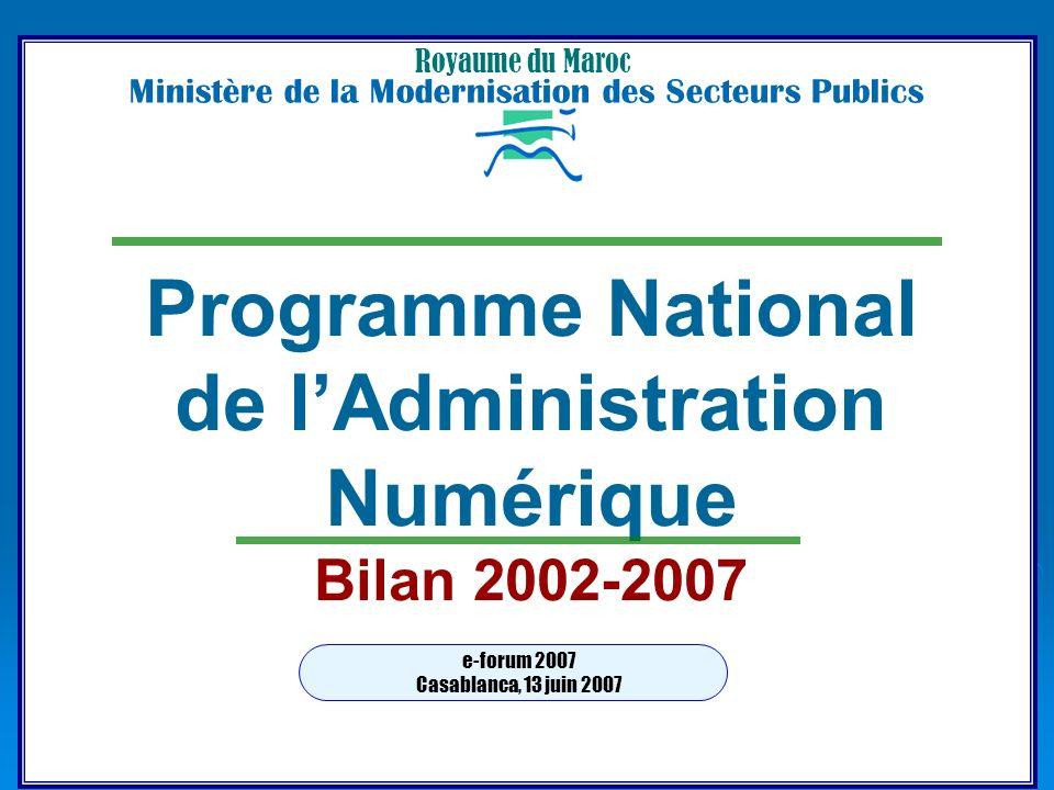 de l'Administration Numérique
