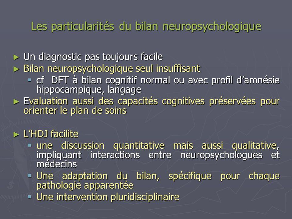 Les particularités du bilan neuropsychologique