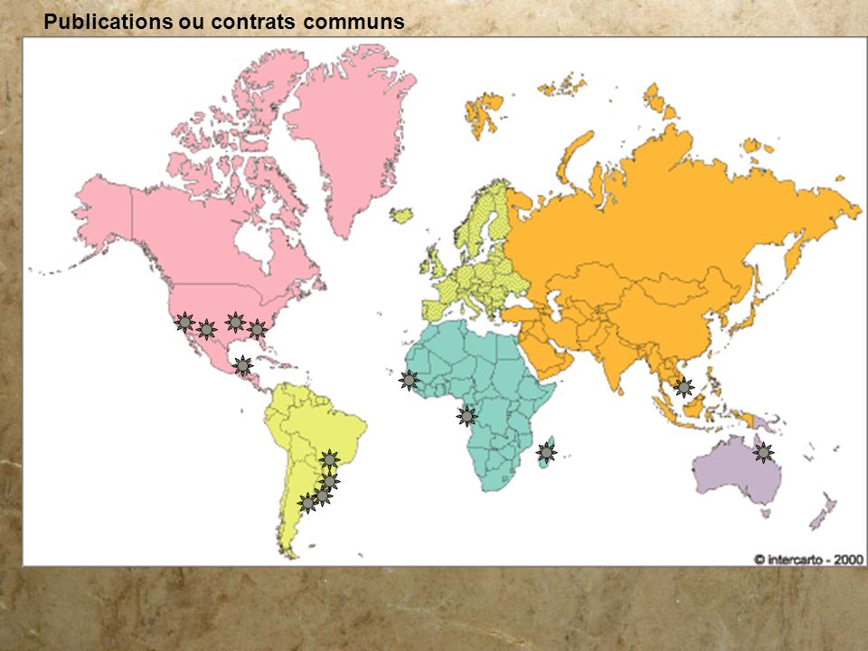 Publications ou contrats communs