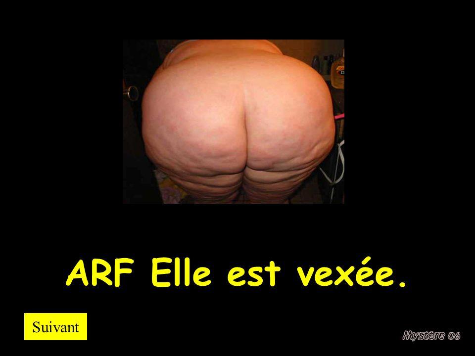 ARF Elle est vexée. Suivant