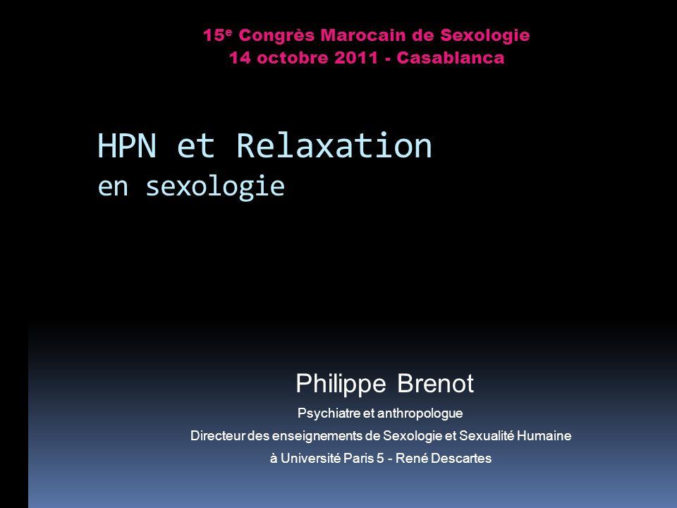 HPN et Relaxation en sexologie