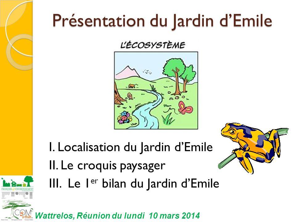 Présentation du Jardin d'Emile