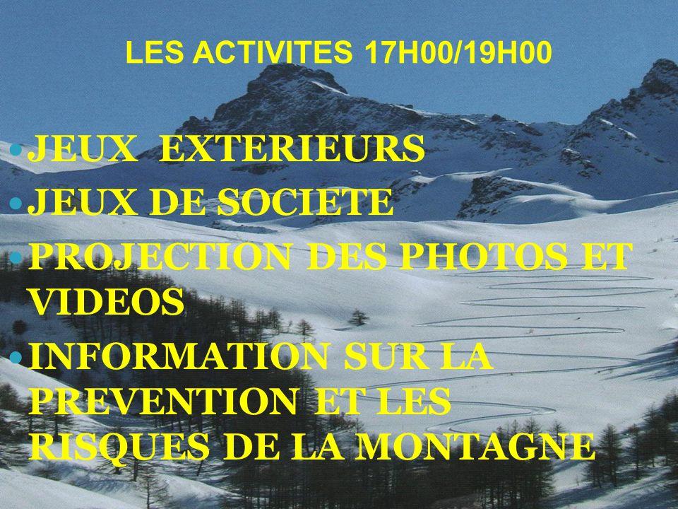 PROJECTION DES PHOTOS ET VIDEOS